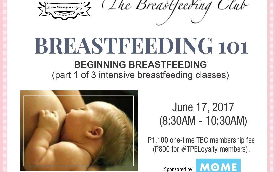 Breastfeeding 101:  Beginning Breastfeeding