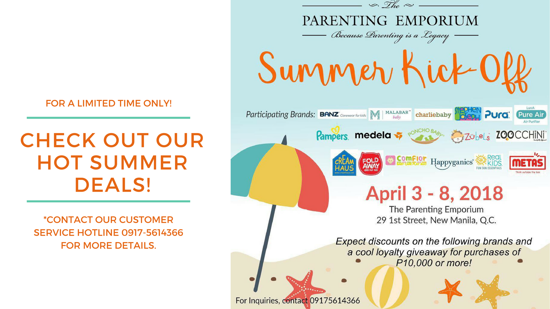 2c4899daeae68 Catch the Summer Kick-Off Sale at The Parenting Emporium! - The ...
