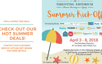 Catch the Summer Kick-Off Sale at The Parenting Emporium!